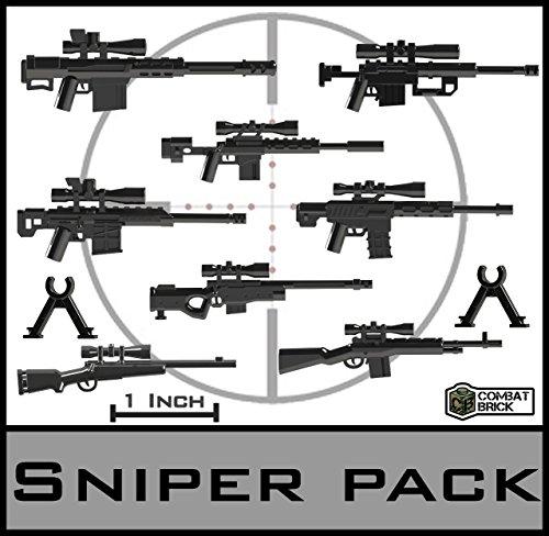 Sniper Rifles - Custom Army Brick Builder Toy Guns 1