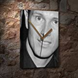 Seasons Nick Moran - Canvas Clock (A5 - Signed by The Artist) #js002