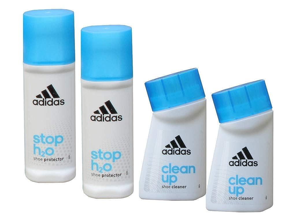 ADIDAS Schuhpflege Set: 2x Reinigung und 2x Schutz für Sportschuhe und Sneaker