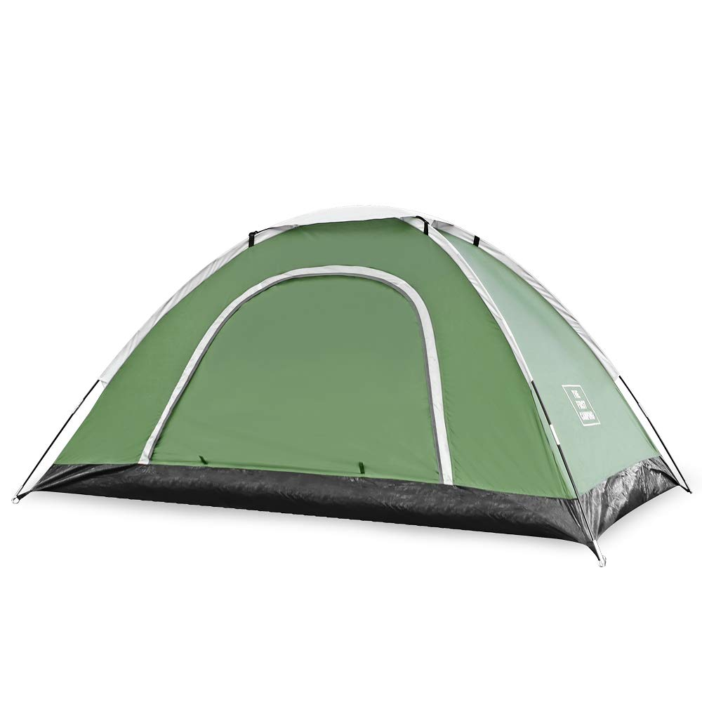 Olive Green Wenzel Lone Tree 2 Polyester 2 Person Lightweight Backpacking Tent