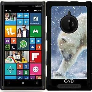 Funda para Nokia Lumia 830 - Un Oso Polar En El Agua by Gatterwe