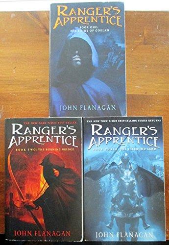 Ranger's Apprentice Books 1, 2, & 3