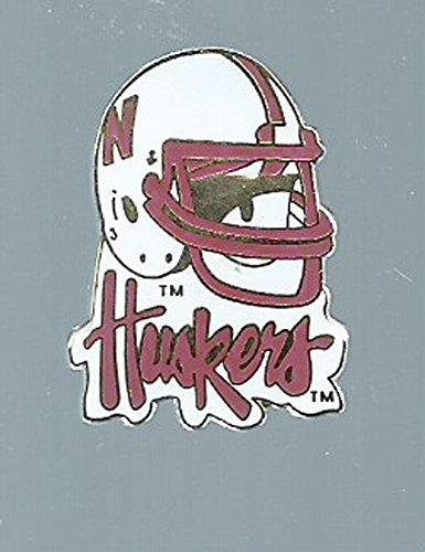 - aminco NCAA Nebraska Cornhuskers Helmet PinHelmet Pin, Team Color, 4