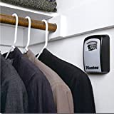Wall-mounted combination key box/key safe, grey/black for sharing your keys securely. Bild 6