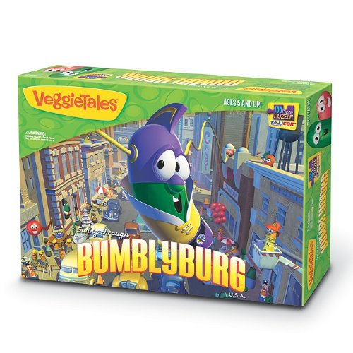 VeggieTales Swing Though Bumblyburg 100-Piece Puzzle ()