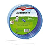 Super Pet SP61384 Large Comfort Exercise Wheel, 8.5-Inch, Colors Vary