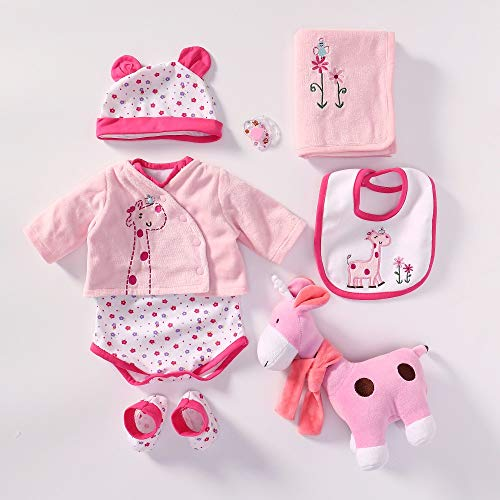 (iCradle Handmade Lovely Clothes Reborn Dolls Outfit Suit for 22