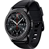 Samsung - Gear S3 Frontier Smartwatch 46mm - AT&T 4G LTE Dark Grey SM-R765A
