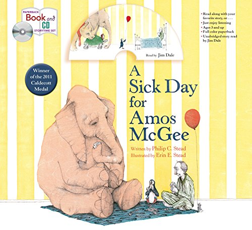A Sick Day for Amos McGee: Book & CD Storytime Set