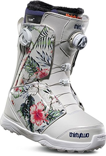 ThirtyTwo Women's Lashed Double Boa '18 Snowboard Boots, Size 7, Floral