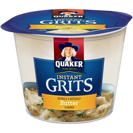 Quaker Instant Butter Flavor Grits 1.48oz Cup ( Pack of 2 )