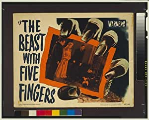 Photo: The Beast with five fingers,Peter Lorre,Andrea King
