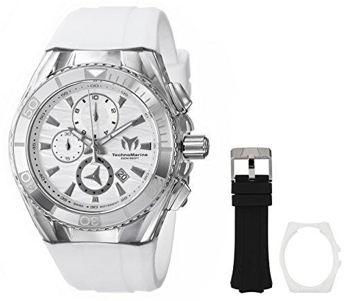 TechnoMarine Unisex 114033 Cruise Original Analog Display Swiss Quartz White Watch
