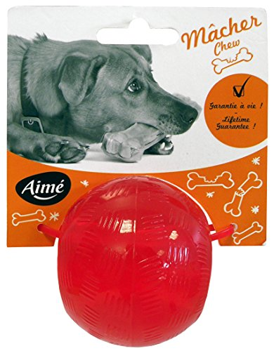 AIME-Jouet-Play-Strong-Ball-6-cm-pour-Chien
