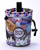 Little Kid Sized Power Paws Chalk Bag for 3-8 Year Olds (Usa Made) By Pure Grit