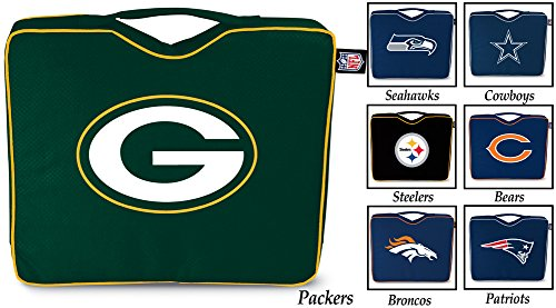 NFL Lightweight Stadium Bleacher Seat Cushion with Carrying Strap, Pittsburgh...