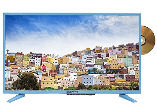 Sceptre E328LD-SR 32″ 720p LED TV, Vivid Blue