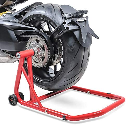 adaptor incl. Single Swing Arm ConStands Rear Paddock Stand Ducati 996 99-01 red