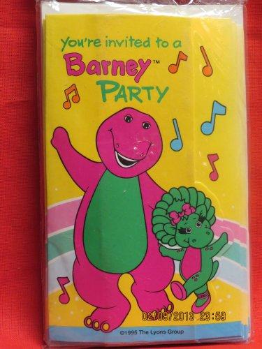Barney Invitations (Barney Invitations