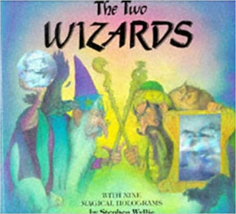 The Two Wizards: Magical Hologram Book
