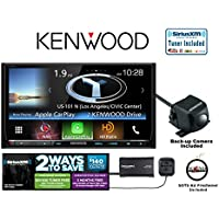 Kenwood eXcelon DNX893S DVD Navigation System with SiriusXM Satellite Radio and Kenwood Backup Camera with a FREE SOTS Air Freshener Included