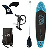 marine ac water pump - Aqua Marina BT-88882P Vapor Inflatable Stand-up Paddle Board with Sports AC-80322 iSUP paddle