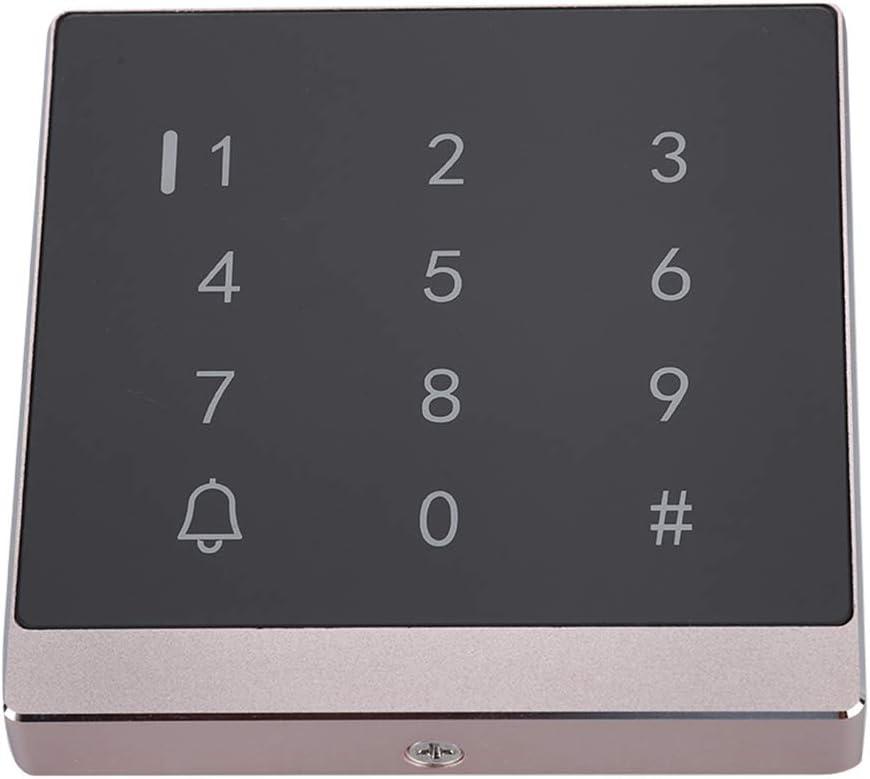 Passwort T/ür/öffner T/ür Zutrittskontrollsystem,T/ür Sicherheit Tor Eintrag Zutrittskontrollsystem T/ür/öffner Codeschloss,Sicherheit T/ür Access Control System Passwort Karte Gold