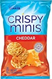 Quaker Crispy Minis Cheddar Cheese (Pack of 12)