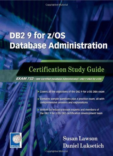 Download DB2 9 for z/OS Database Administration: Certification Study Guide Pdf