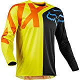 Fox Racing 2018 Youth 360 Preme Jersey-Black/Yellow-YL