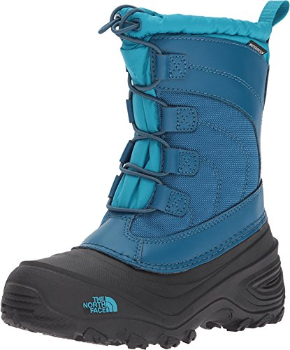 The North Face Alpenglow IV Boot, Egyptian Blue/Blizzard Blue, 2 M US Little Kid