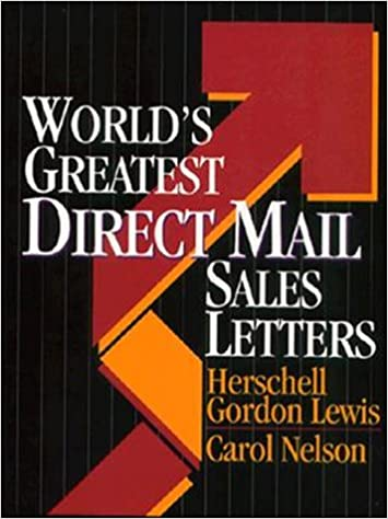 World S Greatest Direct Mail Sales Letters Ntc Business Books