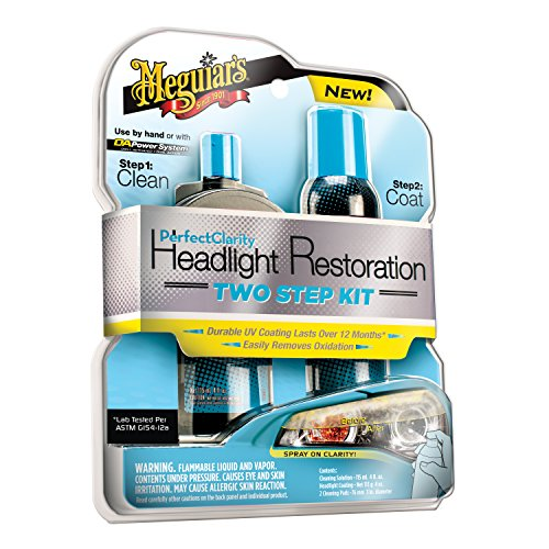 Meguiar's G2000 Perfect Clarity Two Step Headlight Restoration Kit by...