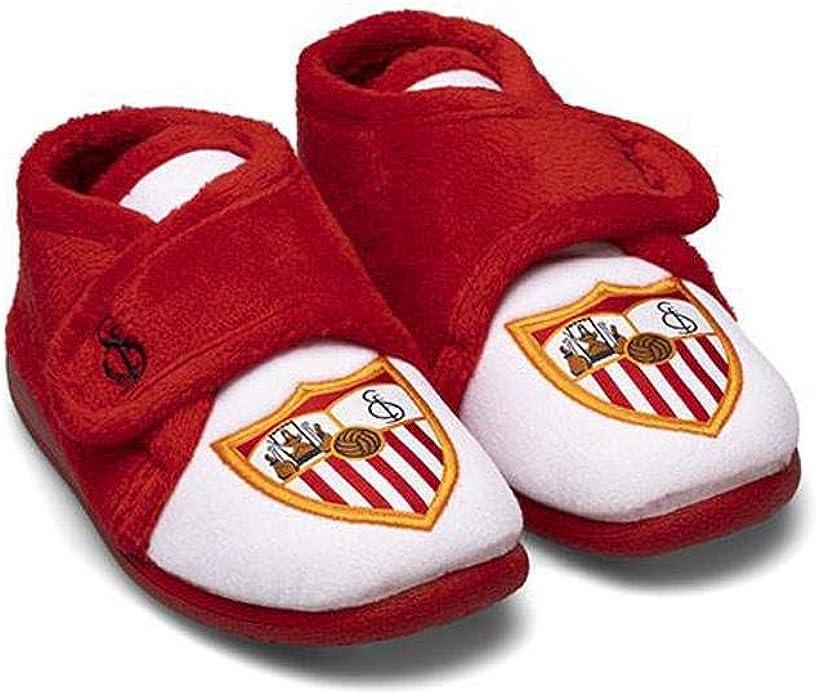 Zapatillas Oficiales Sevilla FC Niño Botín Escudo Zapatillas de ...