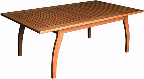 International Caravan Furniture Piece Royal Tahiti Outdoor Rectangular Coffee Table