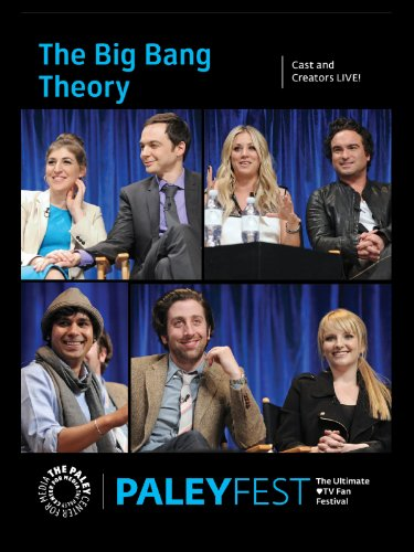 DVD : The Big Bang Theory: Cast and Creators Live at PALEYFEST