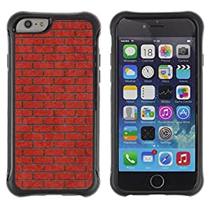 iKiki Tech / Estuche rígido - Brick Wall Pink Red Meaning Music - Apple iPhone 6 PLUS 5.5