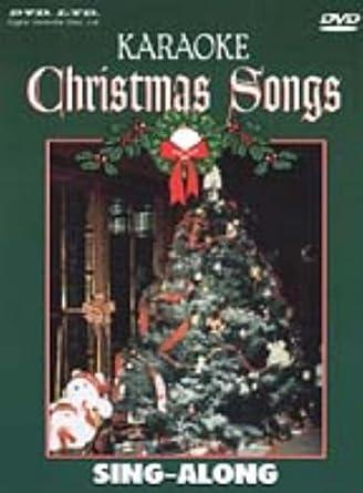 Karaoke Christmas Songs.Karaoke Christmas Songs Dvd Ntsc Amazon Co Uk Karaoke