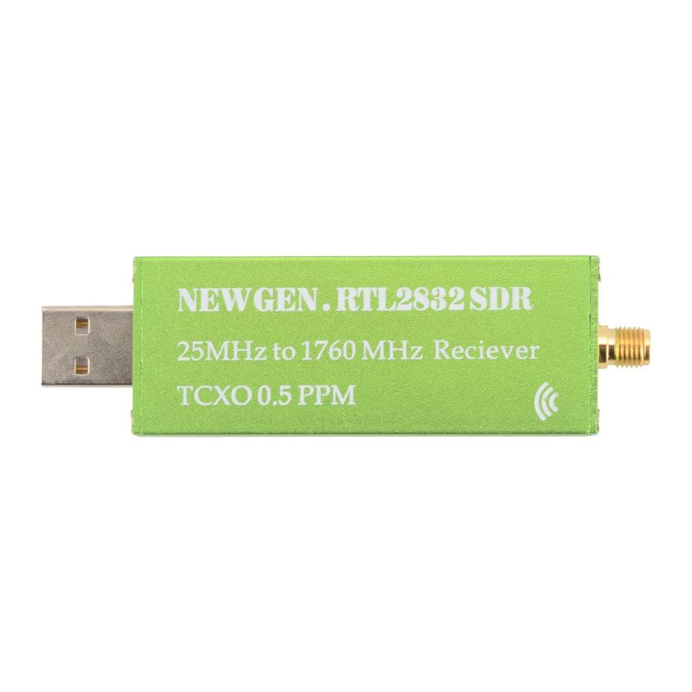 Kreema RTL2832U SDR 0.5PPM TCXO logiciel defini Radio Tunner 25MHz a 1760 MHz recepteur USB Dongle