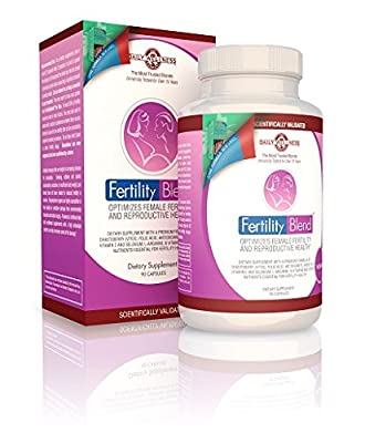 FertilityBlend for Women by The Daily Wellness Company