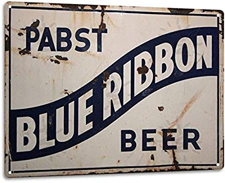 Amazon.com: BinLtd Pabst - Cartel de metal con diseño retro ...