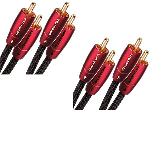 Audioquest GOLDG01R Golden Gate RCA-to-RCA  Cable