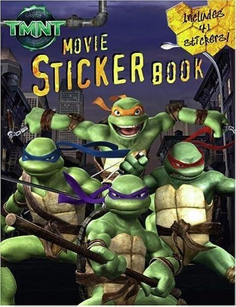 Tmnt Movie Sticker Book Teenage Mutant Ninja Turtles Kilpatrick
