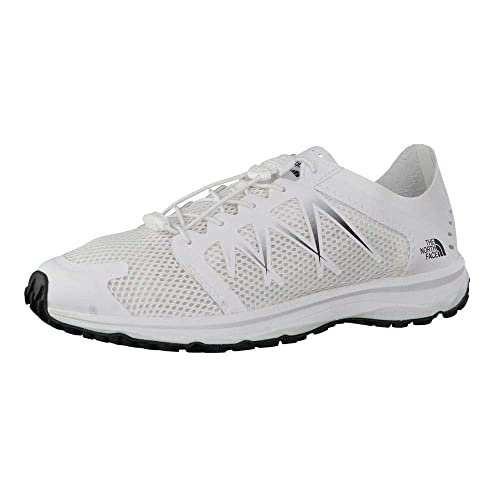 The North Face T92VV2LG5, Zapatillas de Trail Running para Mujer, Blanco (White)