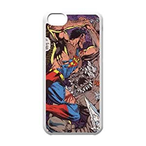 Marvel comic iPhone 5c Cell Phone Case White DIY Gift pxf005-3687934