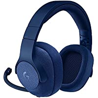 Logitech G433 7.1 Wired Gaming Headset with DTS Headphone: X 7.1 Surround for PC, PS4, PS4 PRO, Xbox One, Xbox One S, Nintendo Switch – Blue(Certified Refurbished)