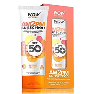 Wow AM to PM Sunscreen SPF-50, 100ml