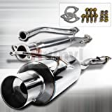 #5: Spec-D Tuning MFCAT2-ACD90 Honda Accord Ex Dx N1 Style Catback Exhaust System