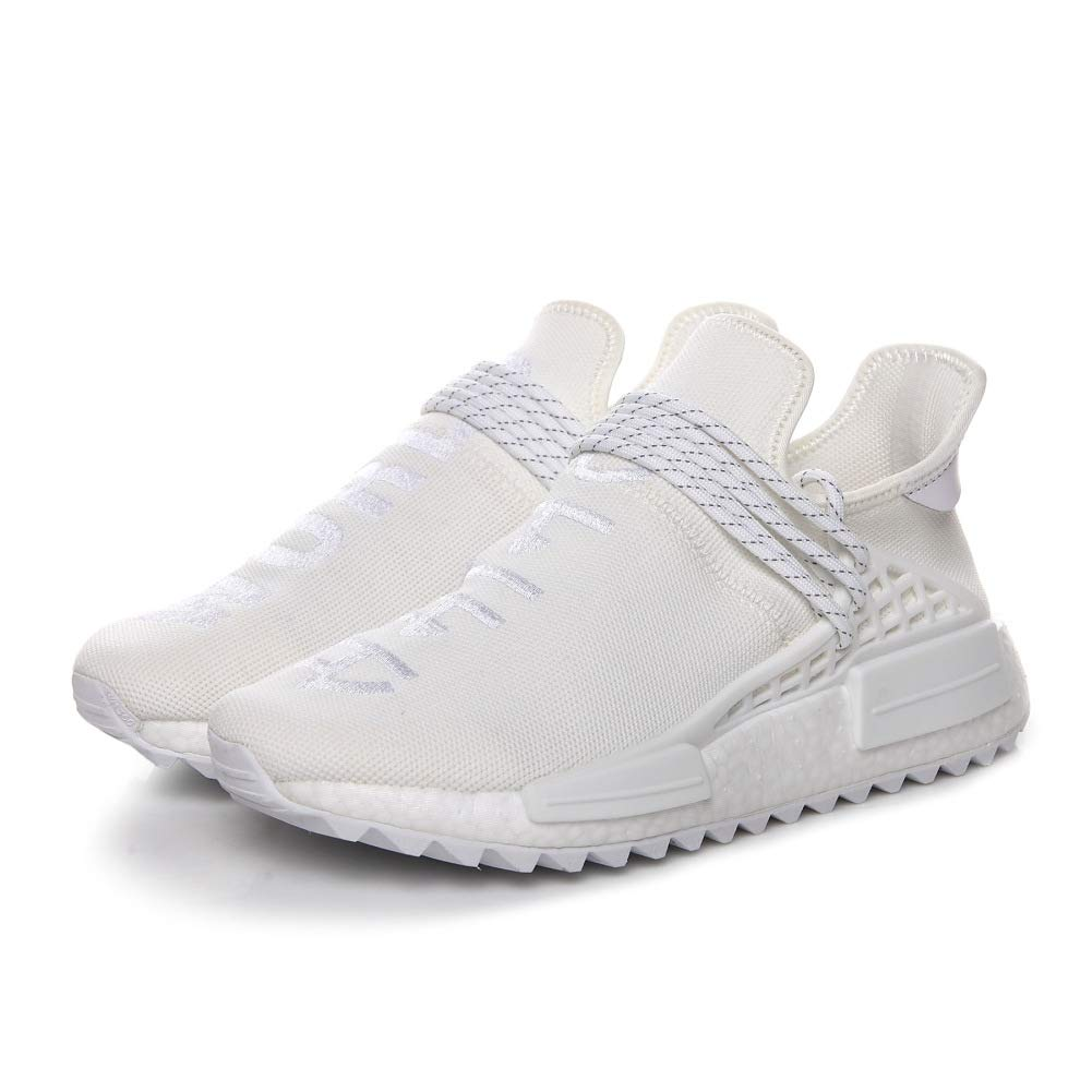 Human Race Femmes NMD Trail Pharrell Williams Sunglow Hommes Femmes Race Training Shoes Running Gym Sneakers 45 1/3 EU|Blanc 59aed5