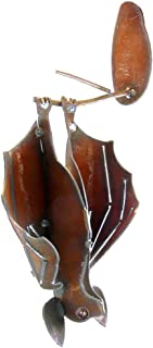product image for Modern Artisans Hanging Garden Bat, American Handmade : Open Wings, Facing Right